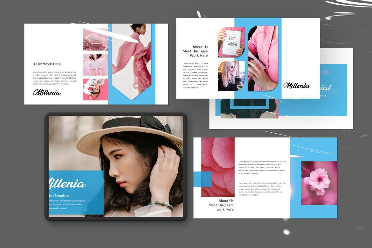 Millenia Creative Powerpoint, 06601, Presentation Templates — PoweredTemplate.com