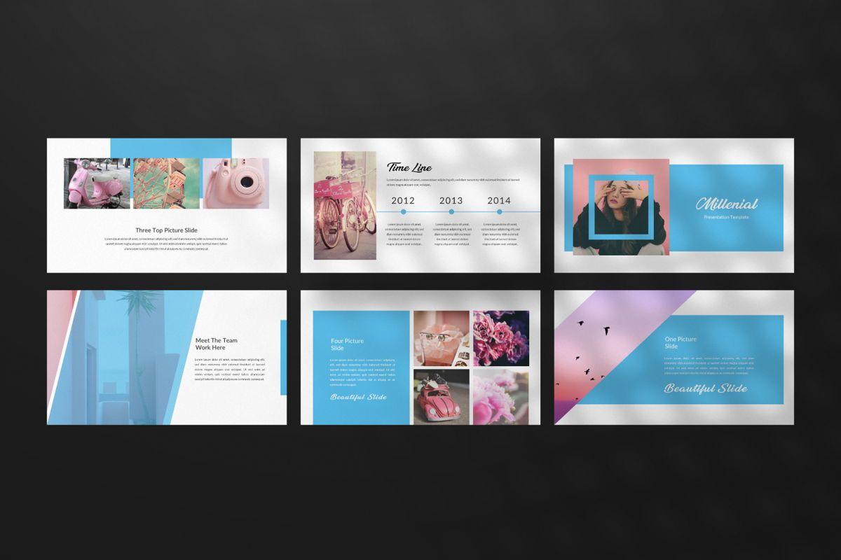 Millenia Creative Powerpoint, Slide 6, 06601, Presentation Templates — PoweredTemplate.com