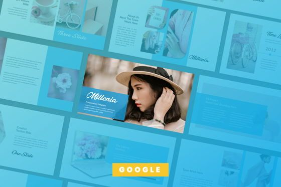 Presentation Templates: Millenia Creative Google Slide #06603