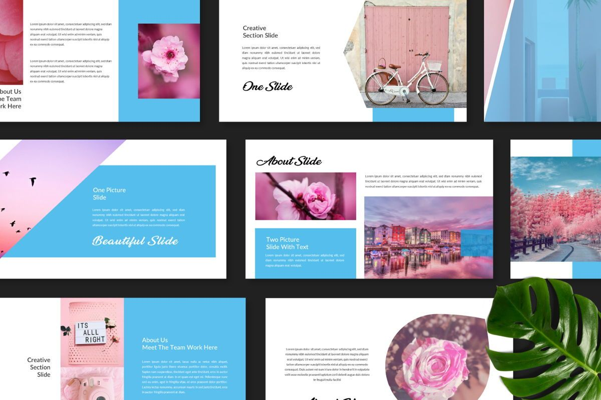 Millenia Creative Google Slide, Slide 2, 06603, Presentation Templates — PoweredTemplate.com