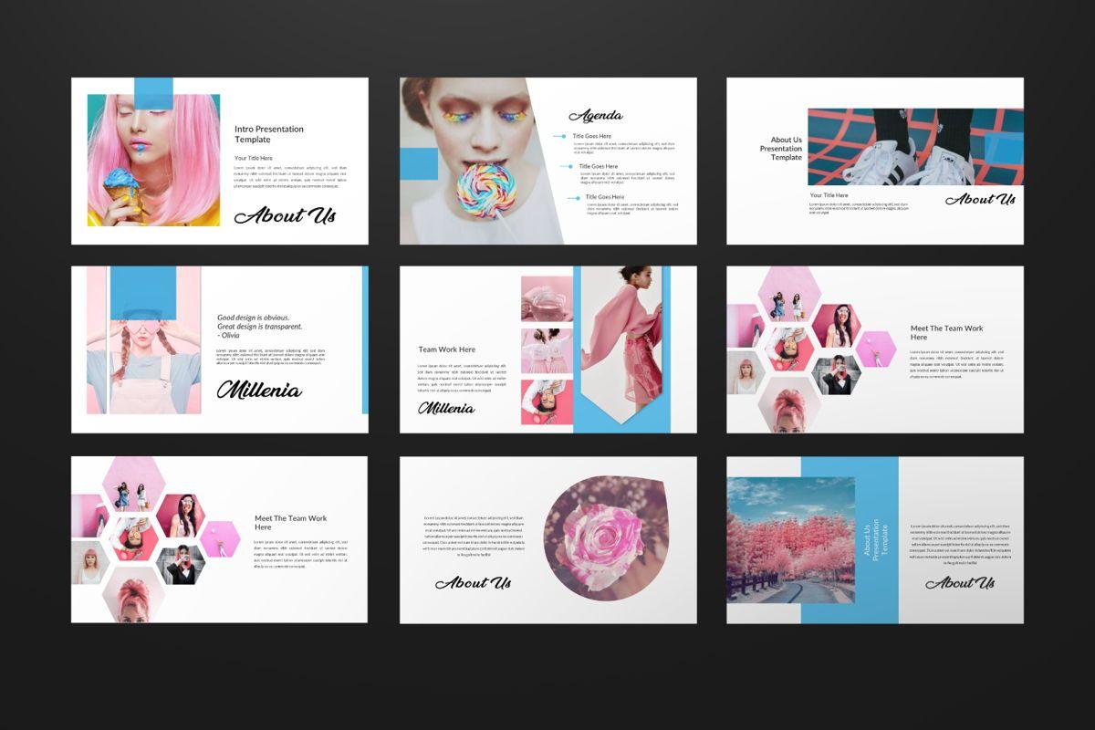 Millenia Creative Google Slide, Slide 4, 06603, Presentation Templates — PoweredTemplate.com