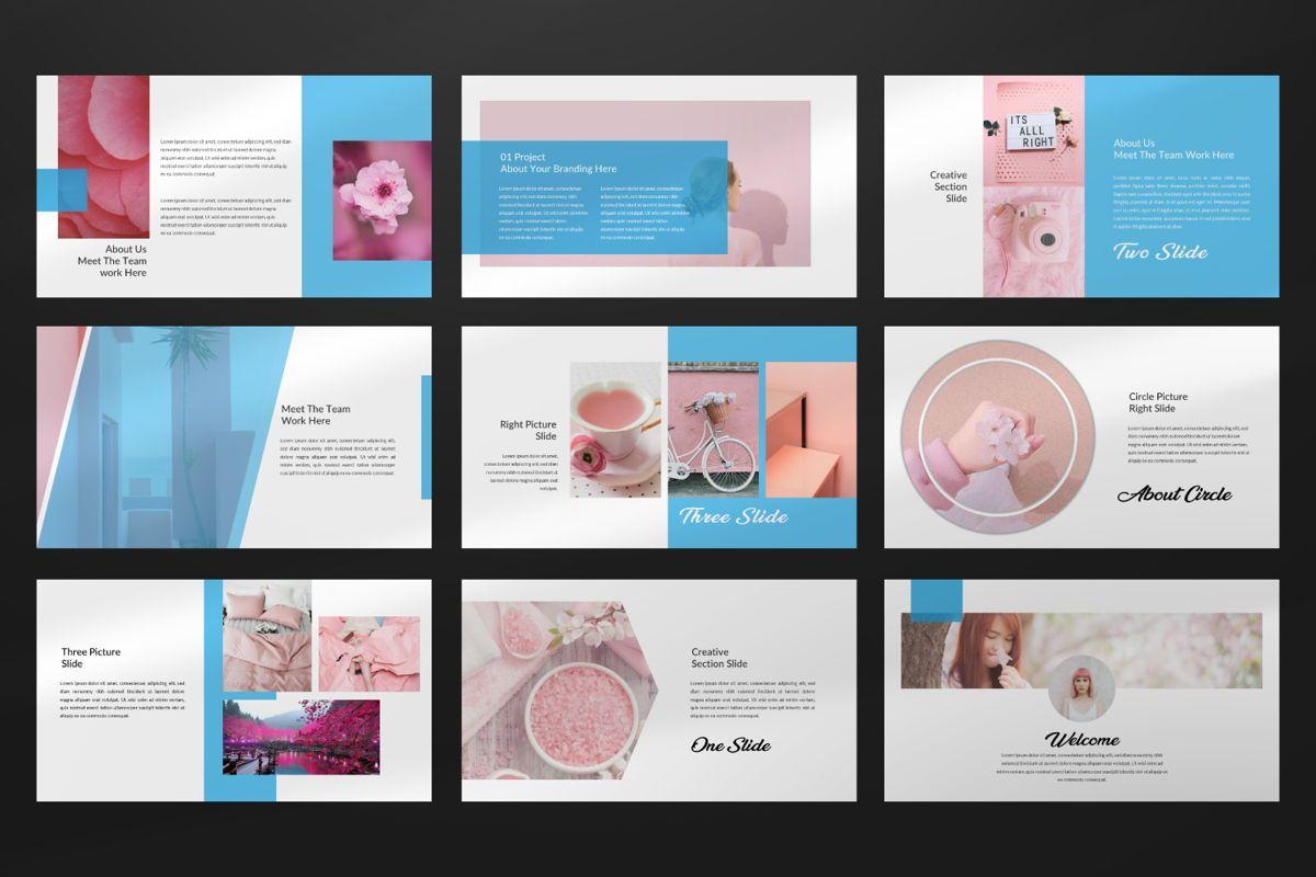 Millenia Creative Google Slide, Slide 5, 06603, Presentation Templates — PoweredTemplate.com