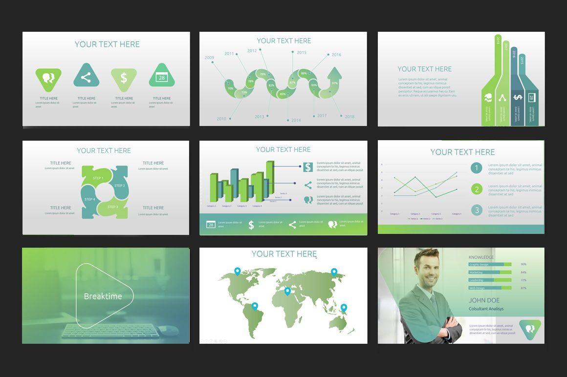 Delta PowerPoint Template, Slide 2, 06604, Presentation Templates — PoweredTemplate.com
