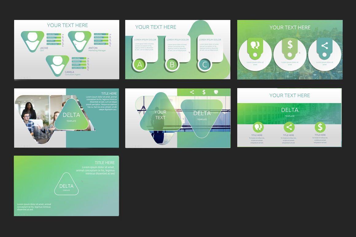 Delta PowerPoint Template, Slide 3, 06604, Presentation Templates — PoweredTemplate.com