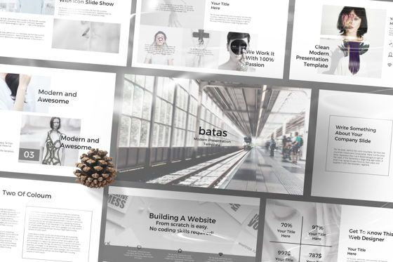 Presentation Templates: Batas Powerpoint Template #06605