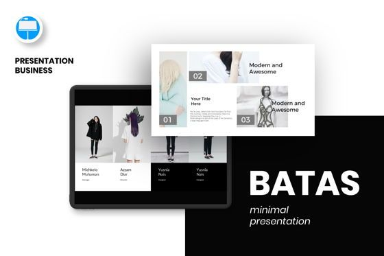 Presentation Templates: Batas Keynote Template #06606