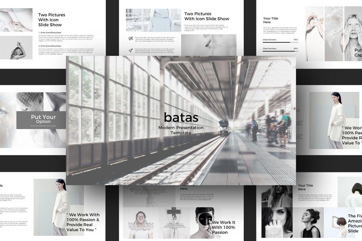 Batas Google Slide Template, 06607, Presentation Templates — PoweredTemplate.com