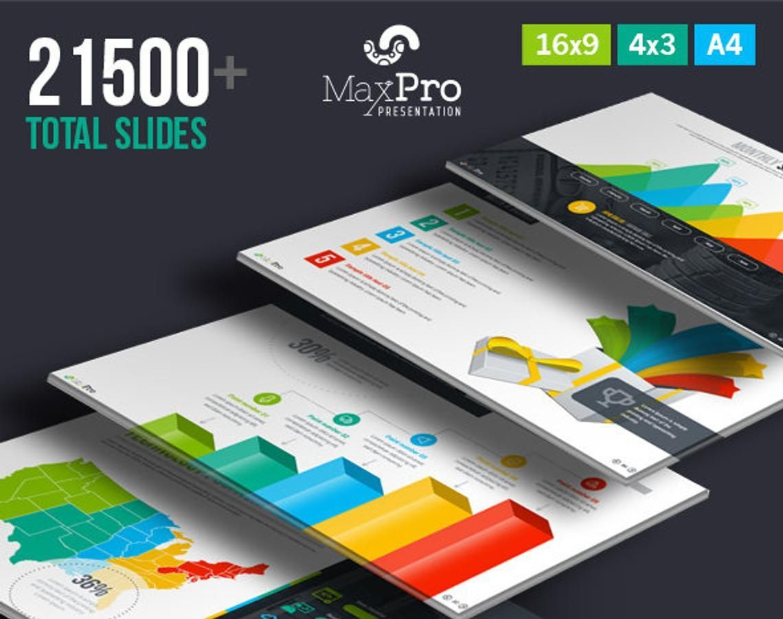 MaxPro Business Plan PowerPoint Template, 06609, Business Models — PoweredTemplate.com