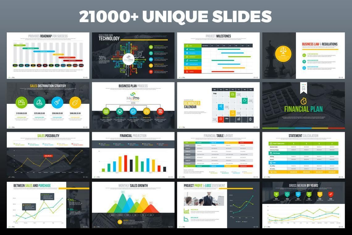 MaxPro Business Plan PowerPoint Template, Slide 4, 06609, Business Models — PoweredTemplate.com