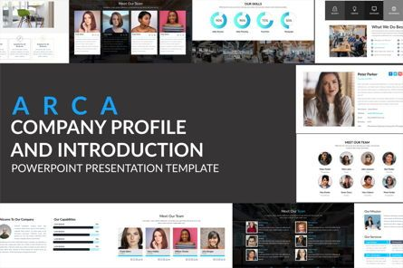 Business Models: Arca Company Profile and Introduction Templates #06610