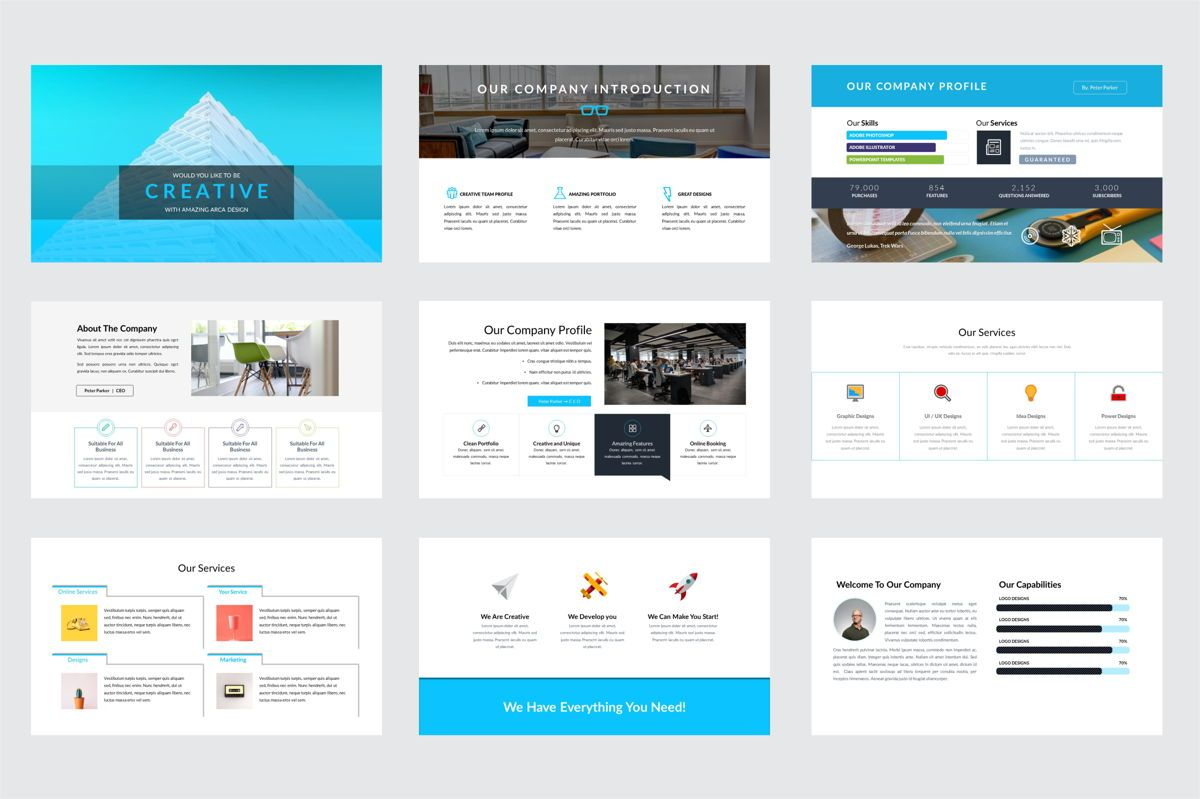 Arca Company Profile and Introduction Templates, Slide 2, 06610, Business Models — PoweredTemplate.com