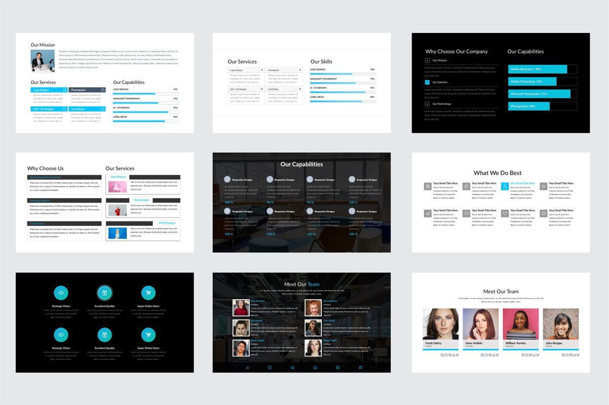 Arca Company Profile and Introduction Templates, Slide 3, 06610, Business Models — PoweredTemplate.com