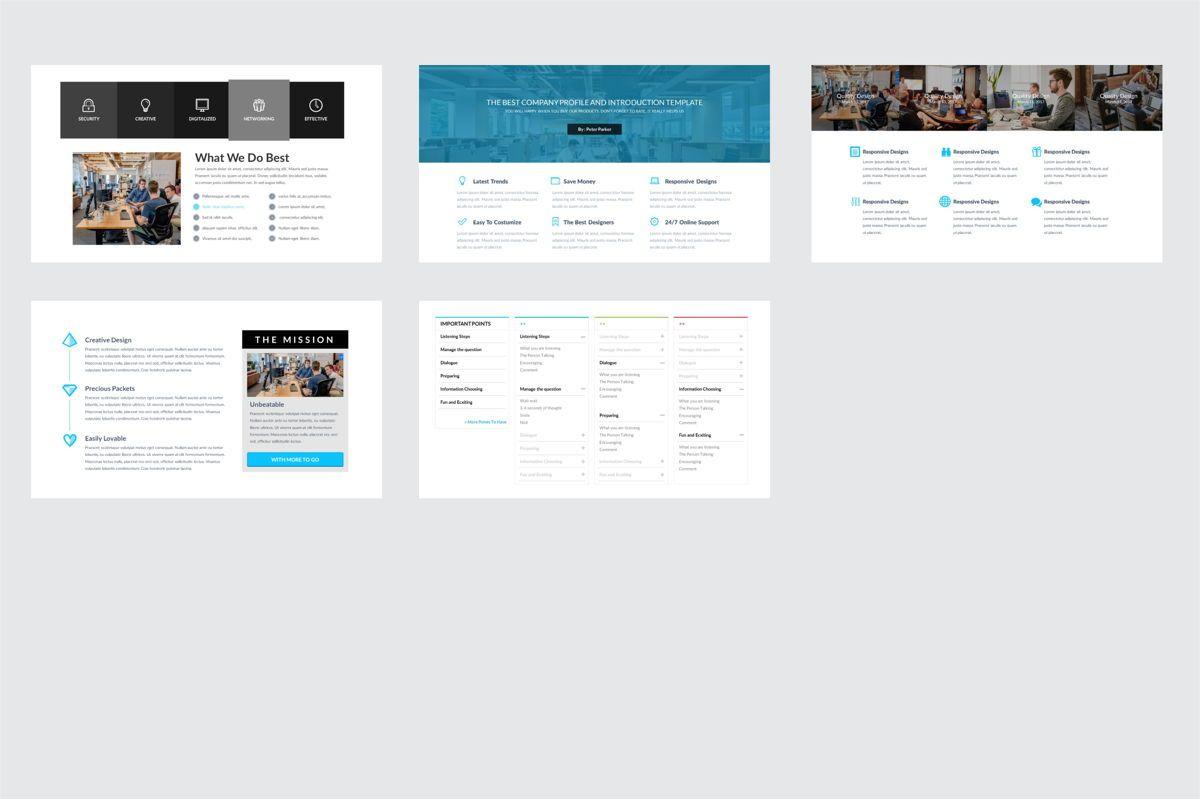 Arca Company Profile and Introduction Templates, Slide 6, 06610, Business Models — PoweredTemplate.com