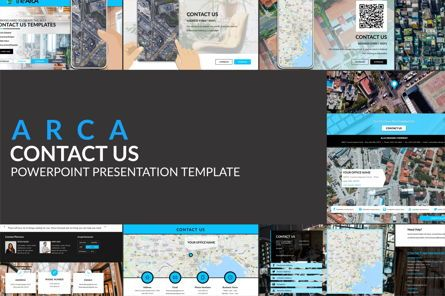 Icons: Arca Contact Us Presentation Templates #06611