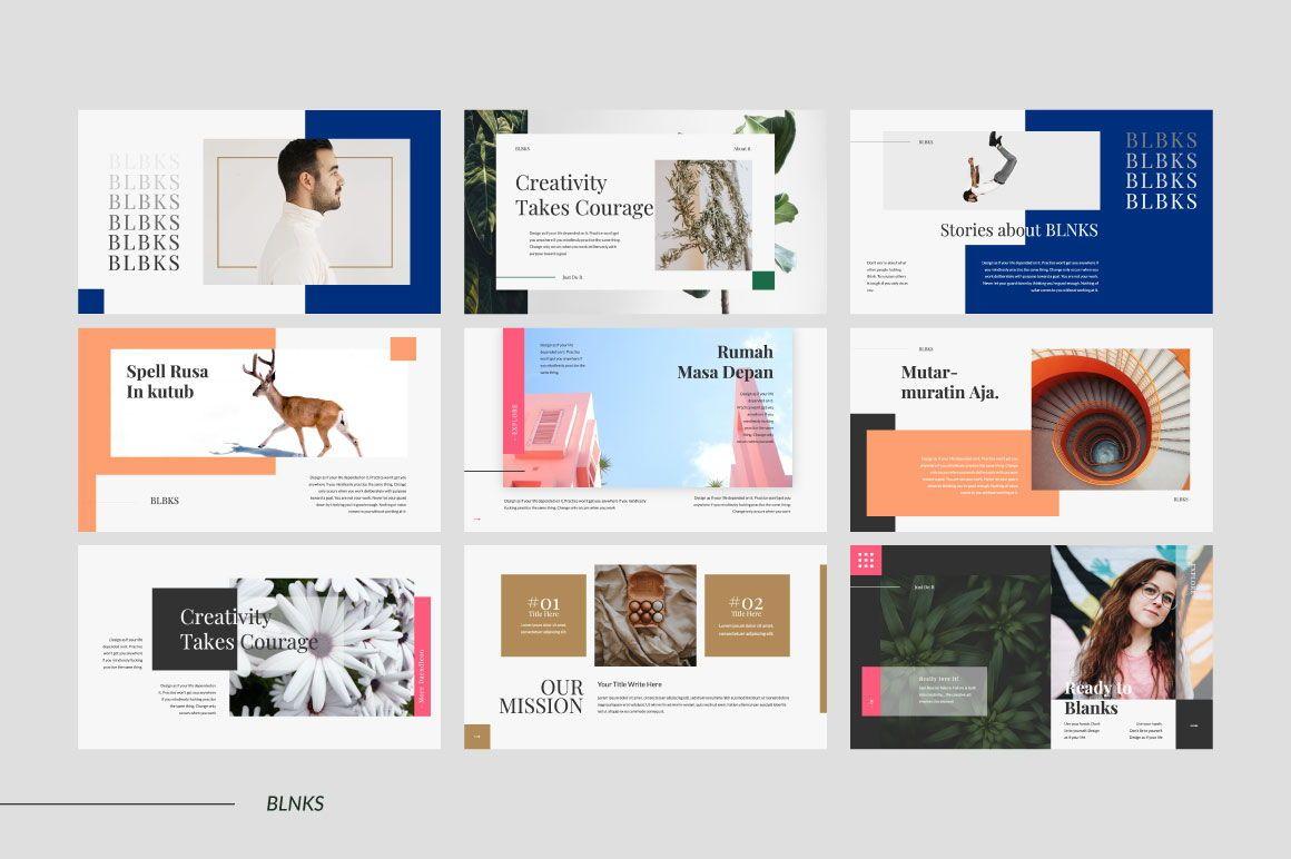 BLNKS Business Google Slide, Slide 4, 06612, Presentation Templates — PoweredTemplate.com