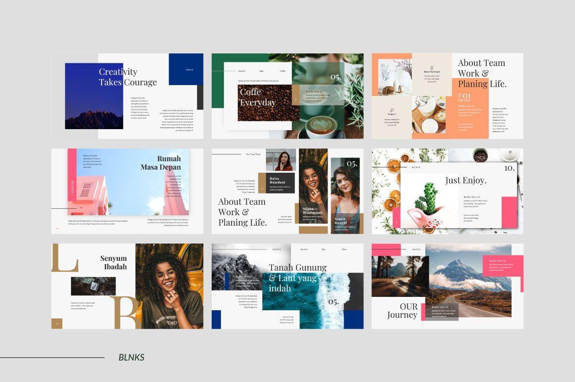 BLNKS Business Google Slide, Slide 6, 06612, Presentation Templates — PoweredTemplate.com