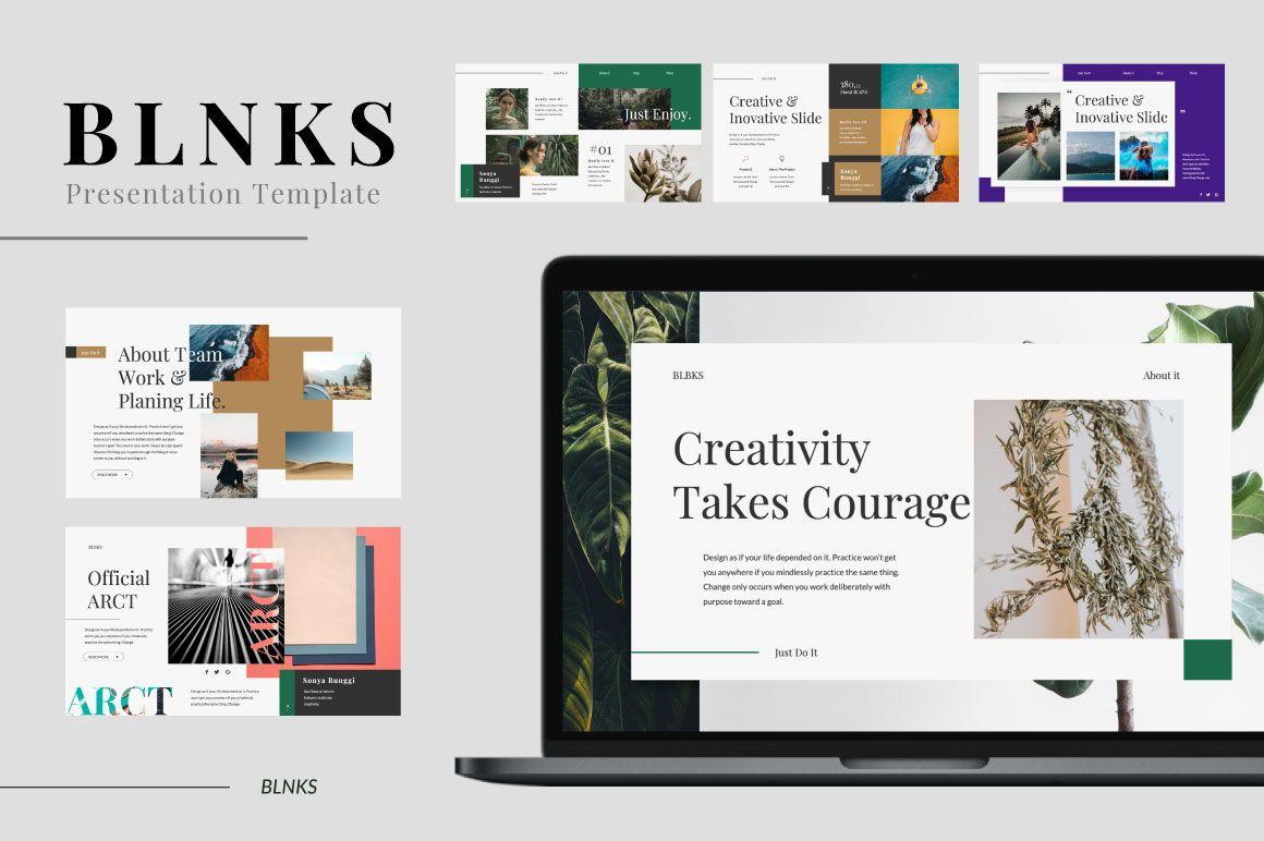 BLNKS Business Powerpoint, Slide 3, 06614, Presentation Templates — PoweredTemplate.com