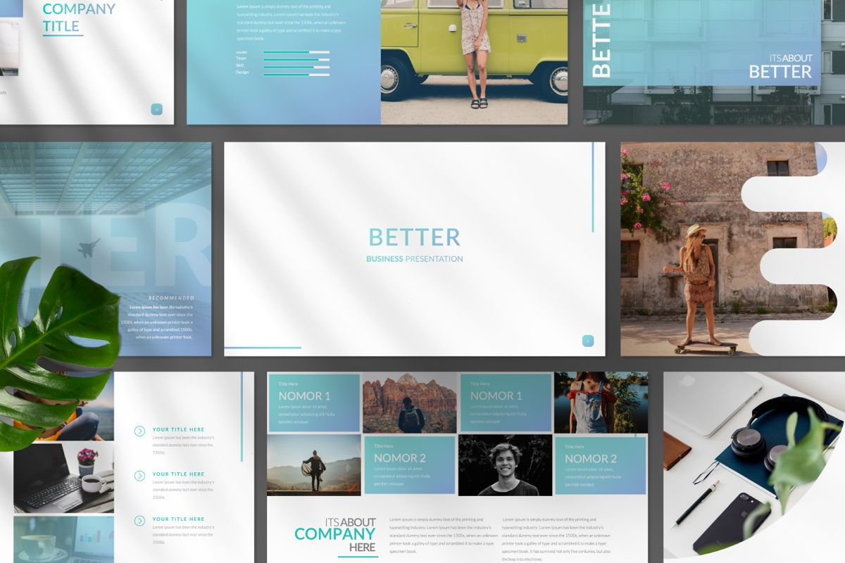 Better Business Google Slide, Slide 10, 06615, Presentation Templates — PoweredTemplate.com