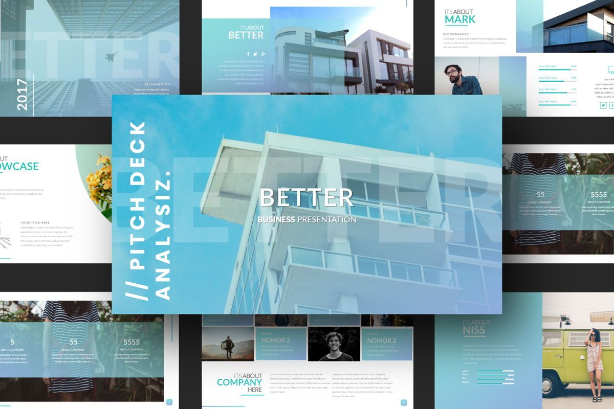Better Business Google Slide, Slide 12, 06615, Presentation Templates — PoweredTemplate.com