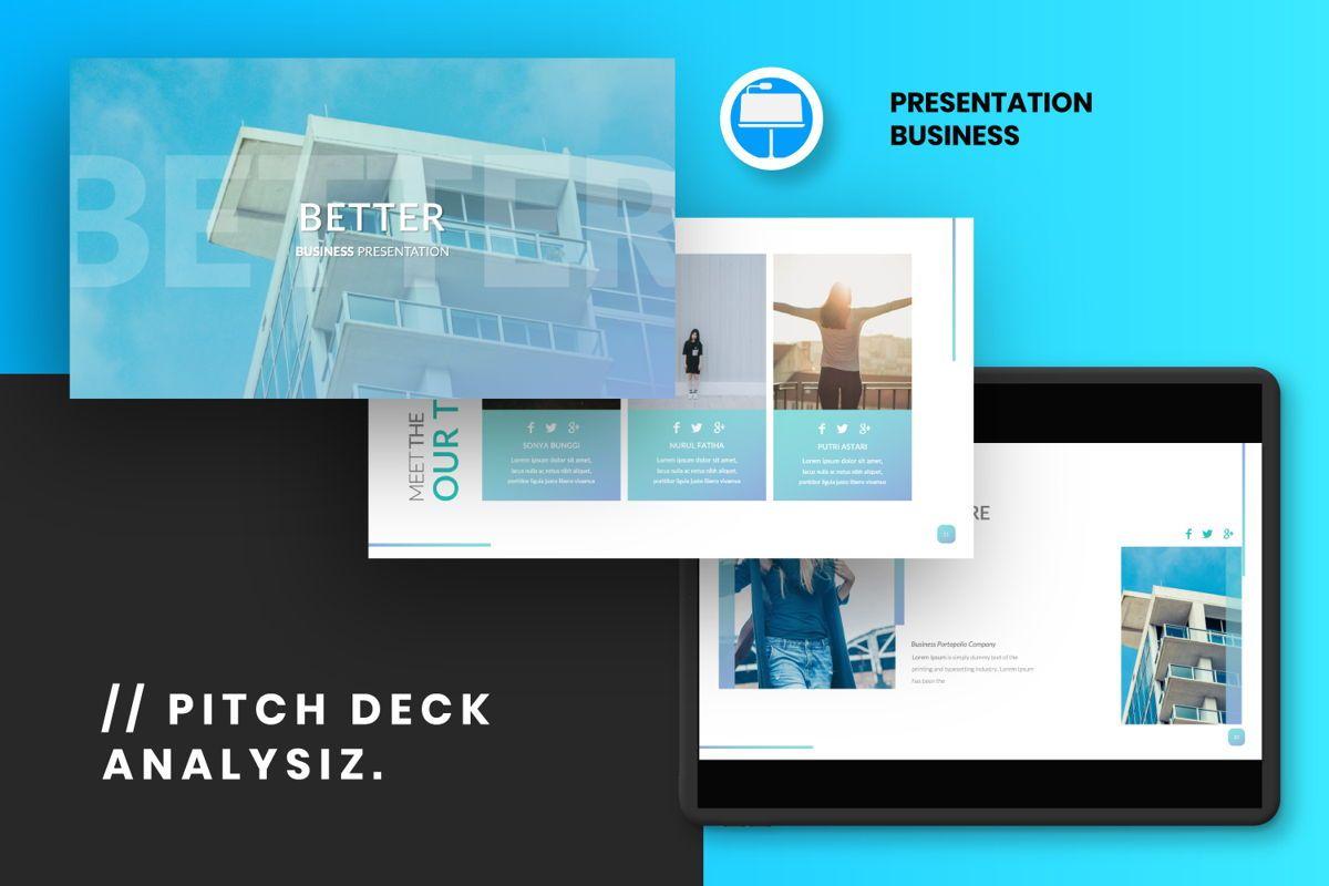 Better Business Keynote, 06616, Presentation Templates — PoweredTemplate.com
