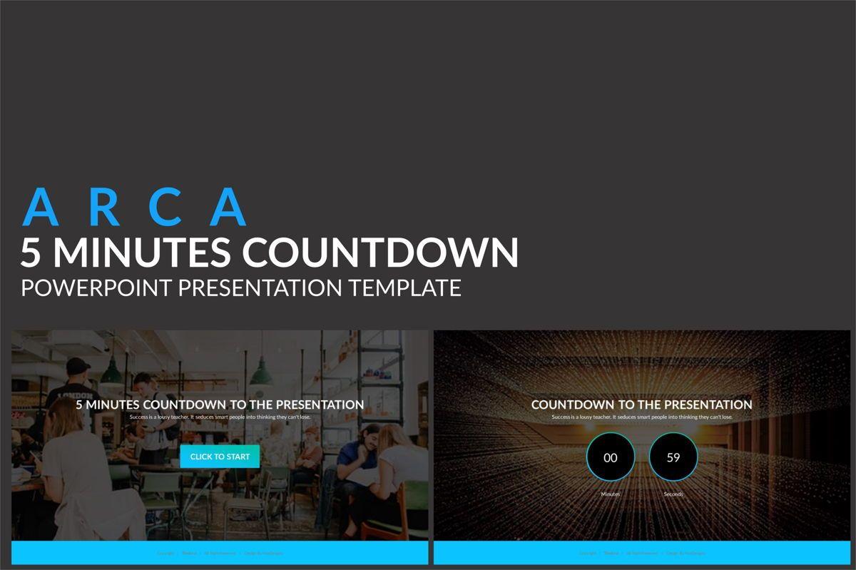 Arca Countdown to Presentation Type 01, 06618, Presentation Templates — PoweredTemplate.com