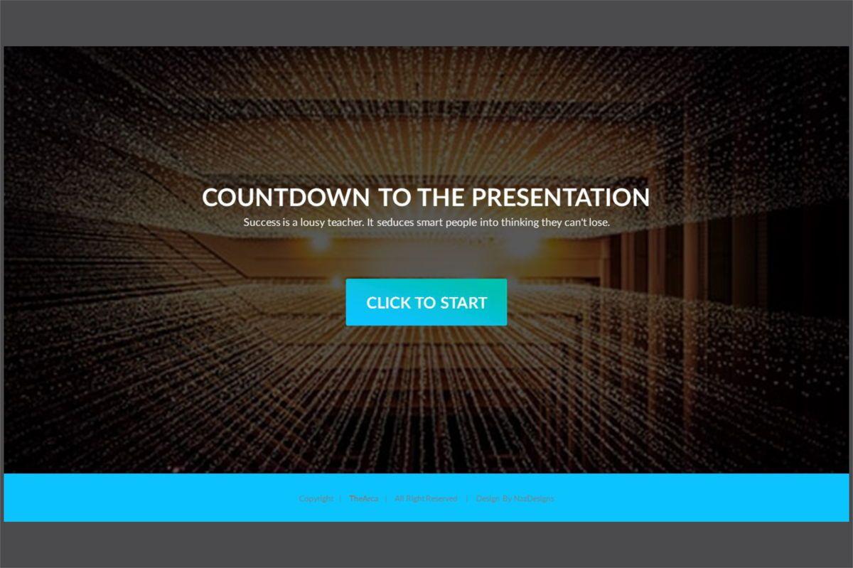 Arca Countdown to Presentation Type 01, Slide 5, 06618, Presentation Templates — PoweredTemplate.com