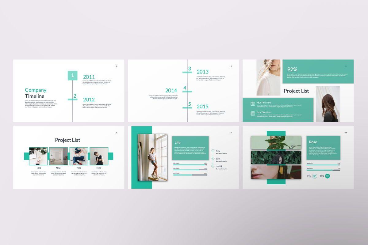 Kaori Business Google Slide, Slide 6, 06619, Presentation Templates — PoweredTemplate.com