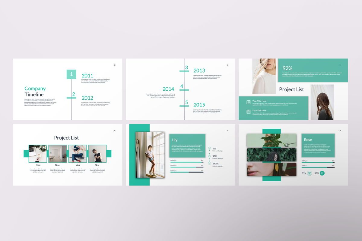 Kaori Business Powerpoint, Slide 6, 06621, Presentation Templates — PoweredTemplate.com