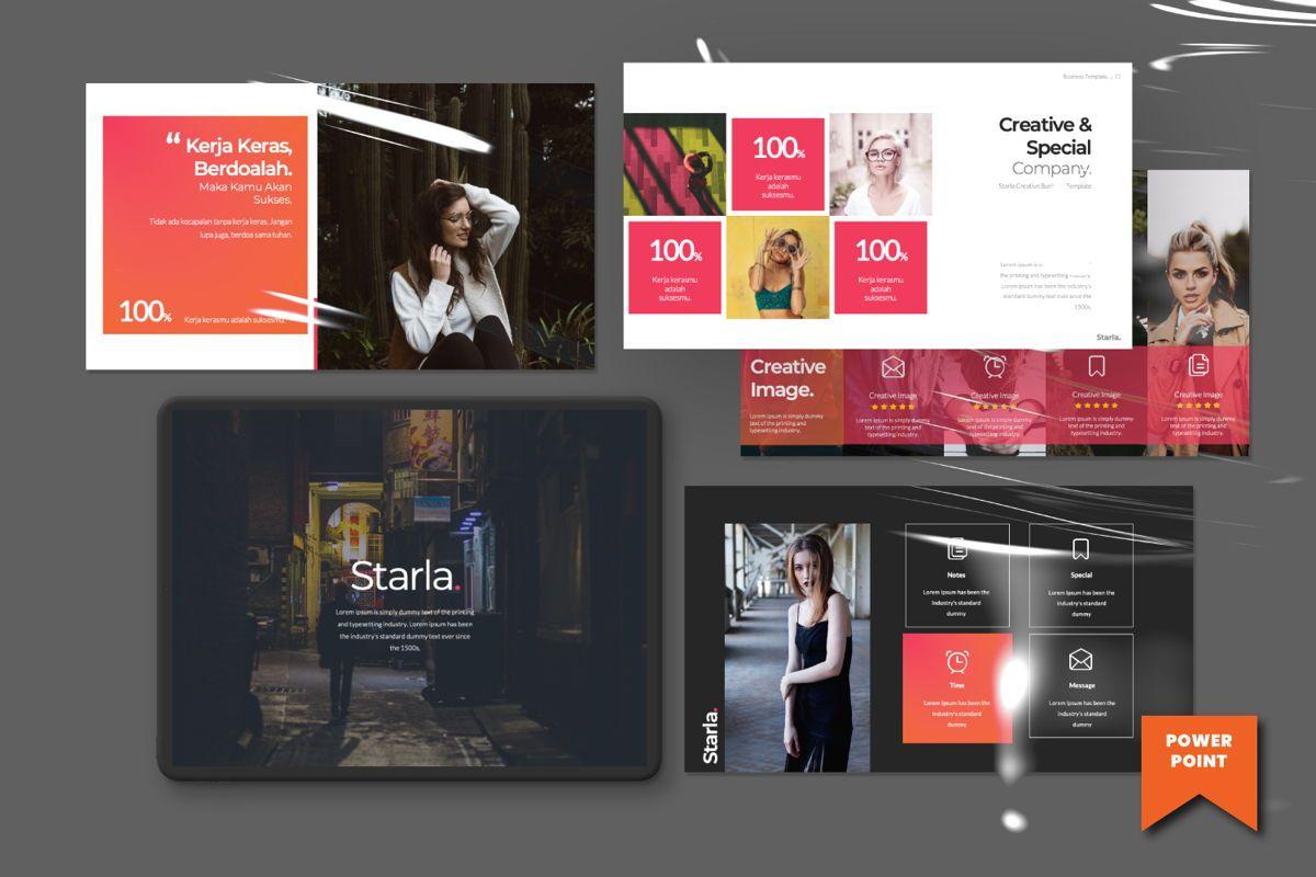 Starla Business Powerpoint, 06623, Presentation Templates — PoweredTemplate.com