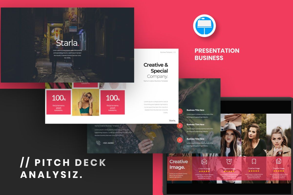 Starla Business Keynote, 06624, Presentation Templates — PoweredTemplate.com