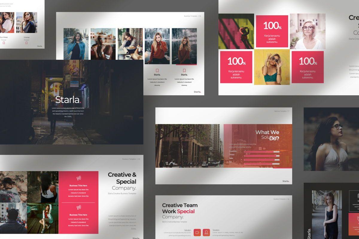 Starla Business Google Slide, Slide 10, 06625, Presentation Templates — PoweredTemplate.com