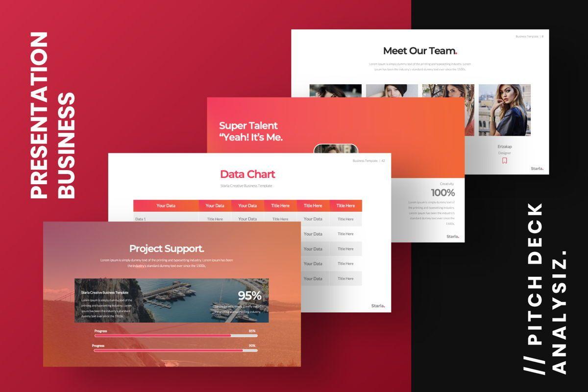 Starla Business Google Slide, Slide 2, 06625, Presentation Templates — PoweredTemplate.com