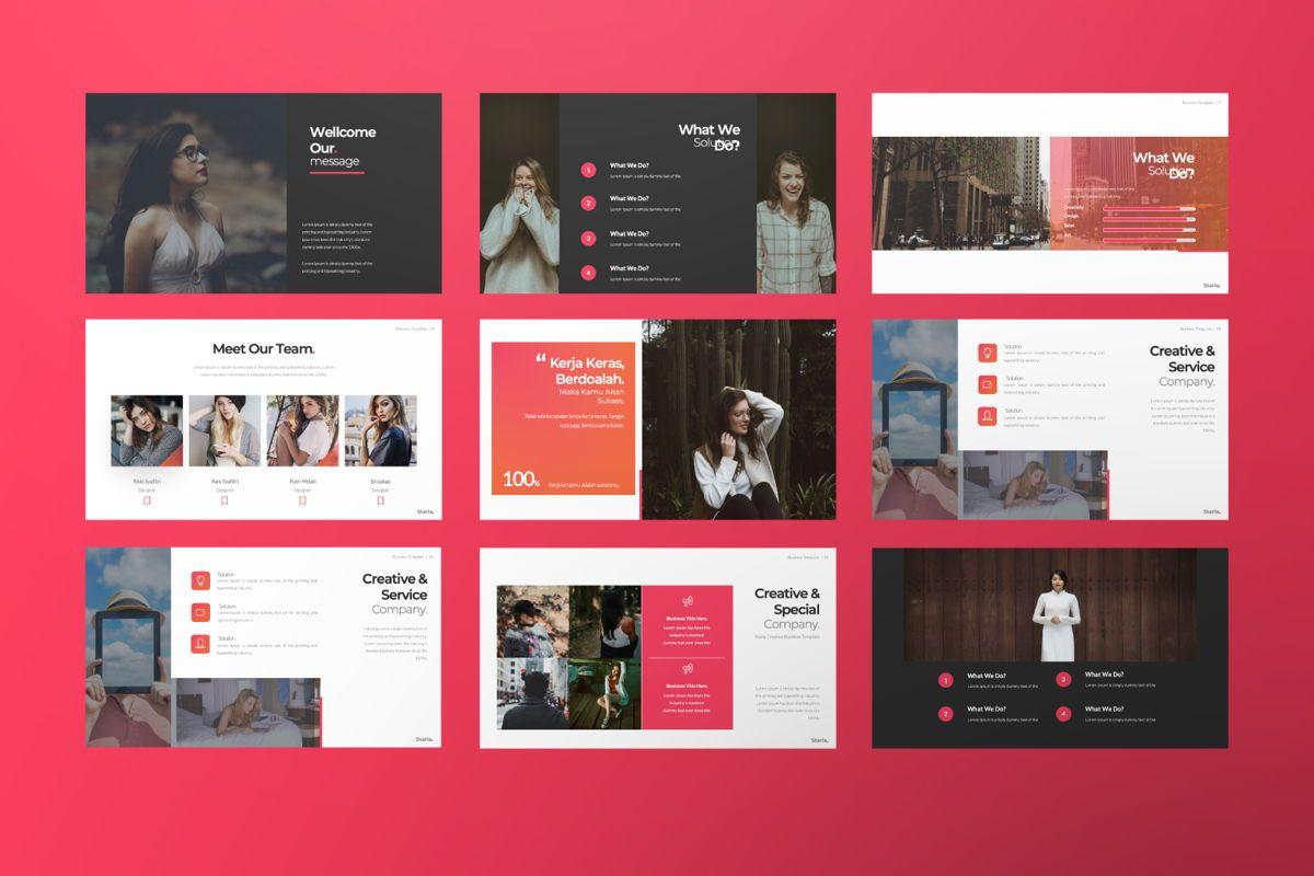 Starla Business Google Slide, Slide 3, 06625, Presentation Templates — PoweredTemplate.com