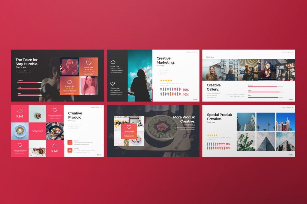 Starla Business Google Slide, Slide 7, 06625, Presentation Templates — PoweredTemplate.com