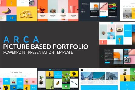 Icons: Arca Picture Based Portofolio Presentation Template #06626