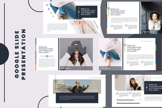 Presentation Templates: Flowerwall Business Google Slide #06627