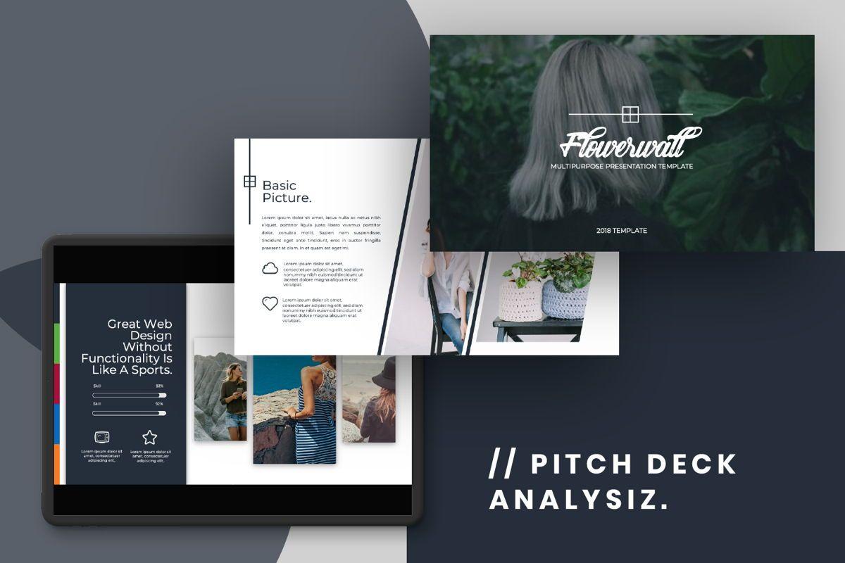 Flowerwall Business Google Slide, Slide 14, 06627, Presentation Templates — PoweredTemplate.com