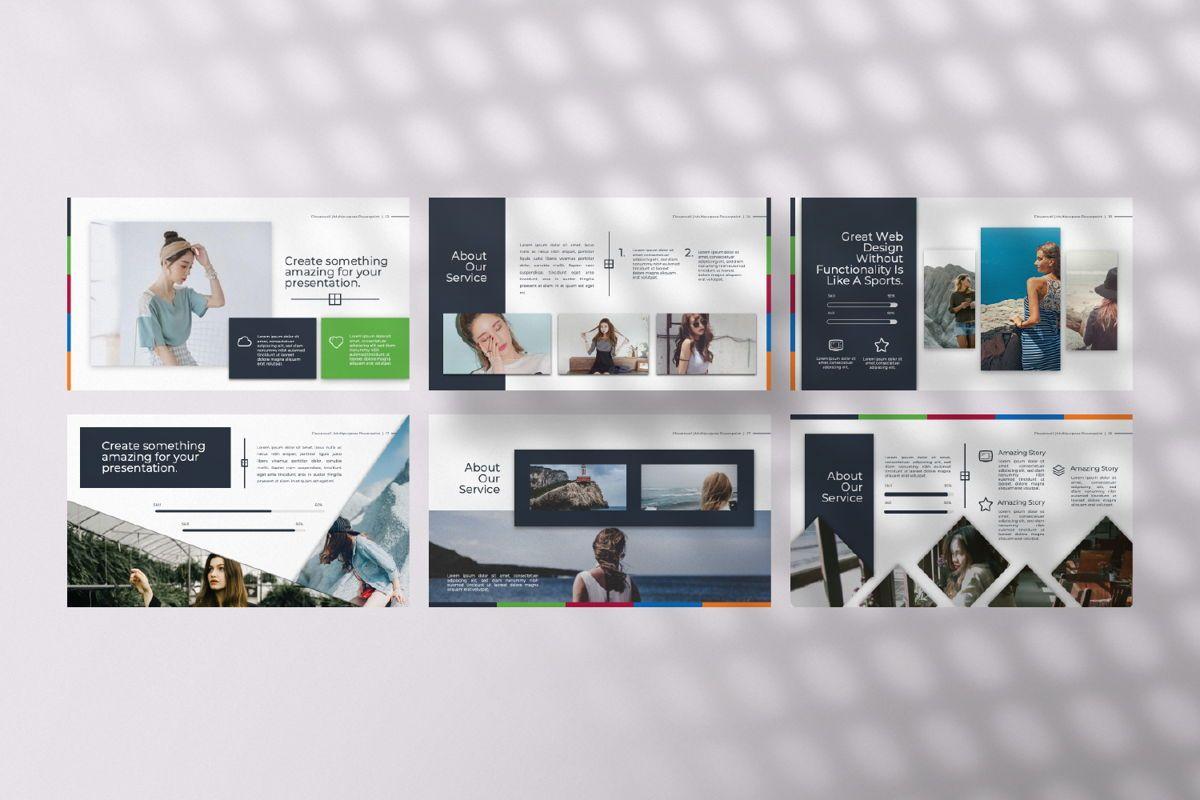 Flowerwall Business Google Slide, Slide 4, 06627, Presentation Templates — PoweredTemplate.com