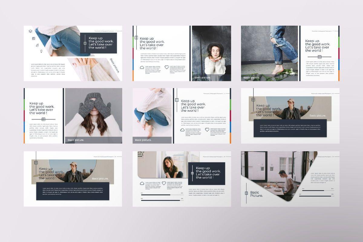 Flowerwall Business Keynote, Slide 2, 06628, Presentation Templates — PoweredTemplate.com