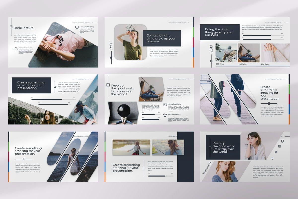Flowerwall Business Keynote, Slide 3, 06628, Presentation Templates — PoweredTemplate.com