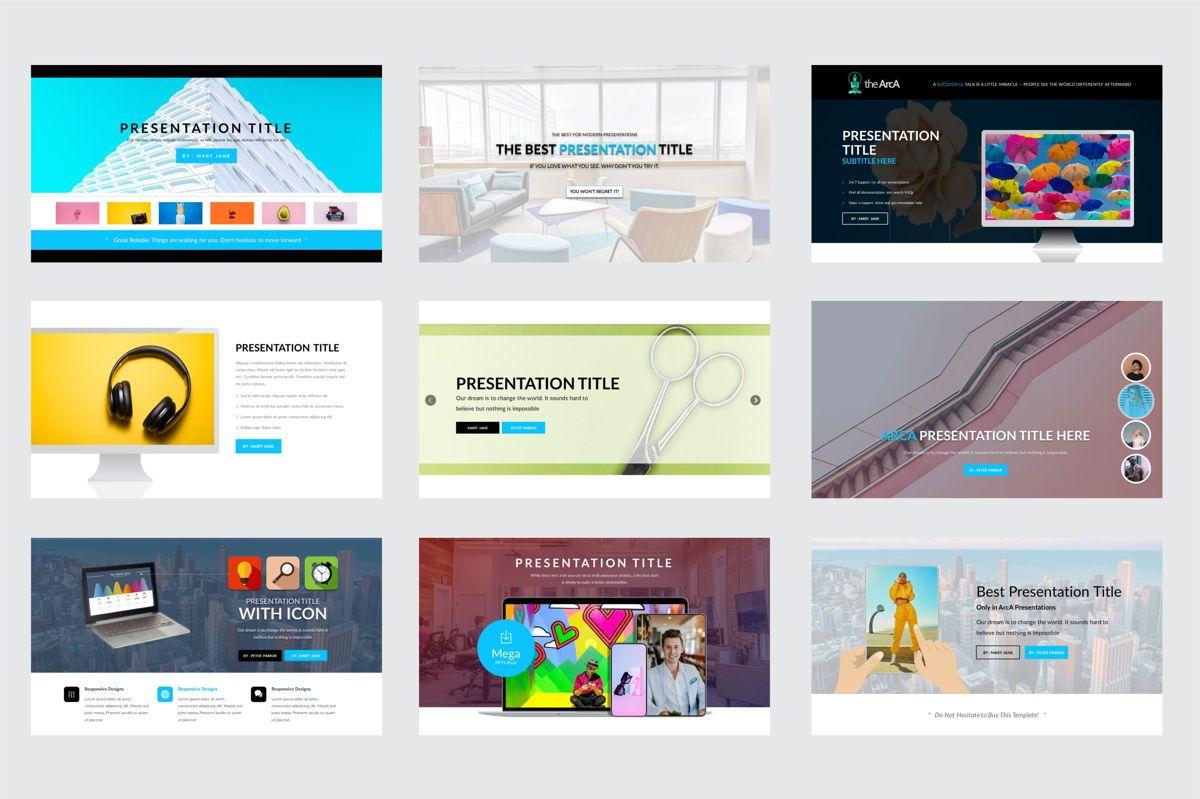 Arca Presentation Title Templates, Slide 3, 06630, Presentation Templates — PoweredTemplate.com