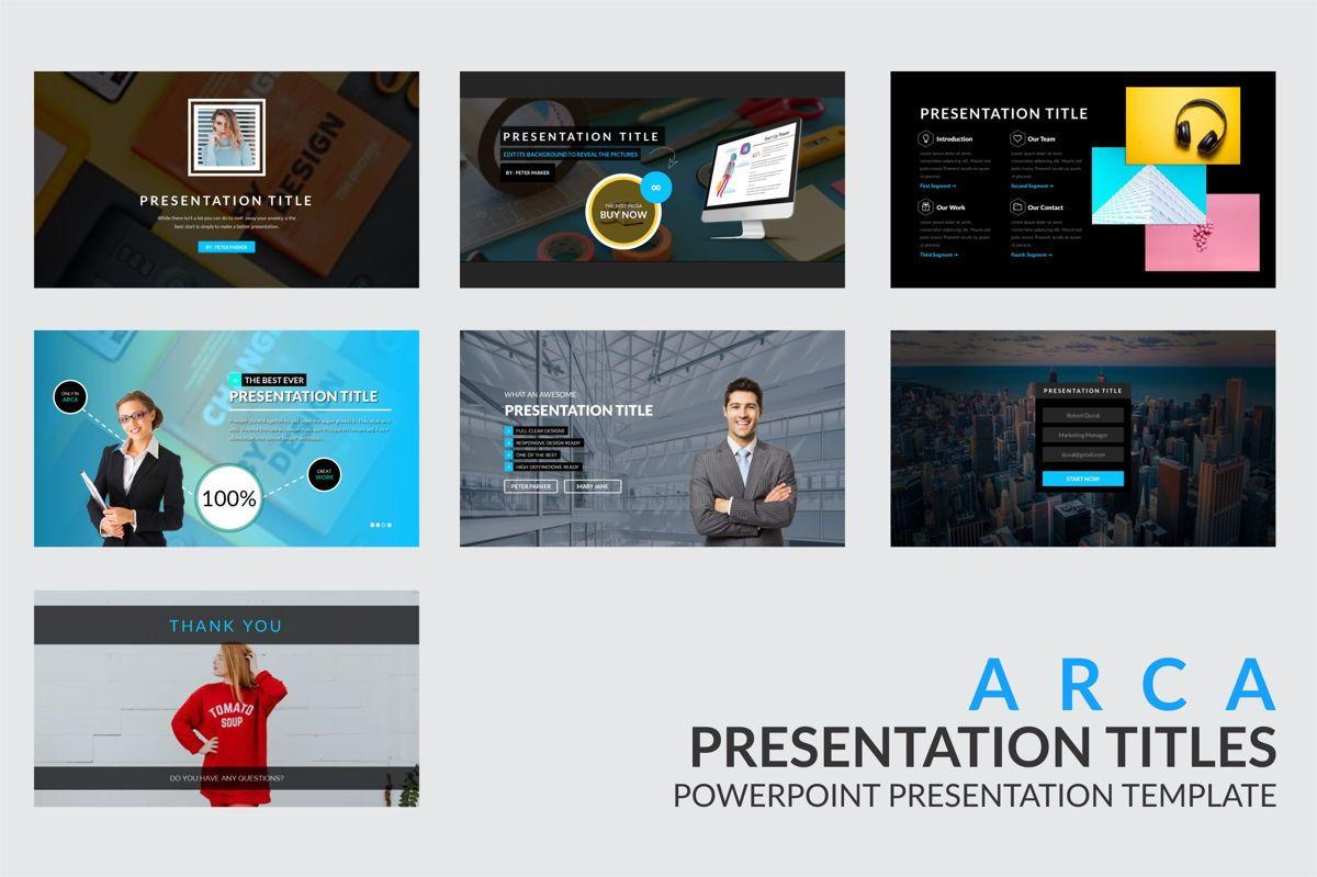 Arca Presentation Title Templates, Slide 4, 06630, Presentation Templates — PoweredTemplate.com