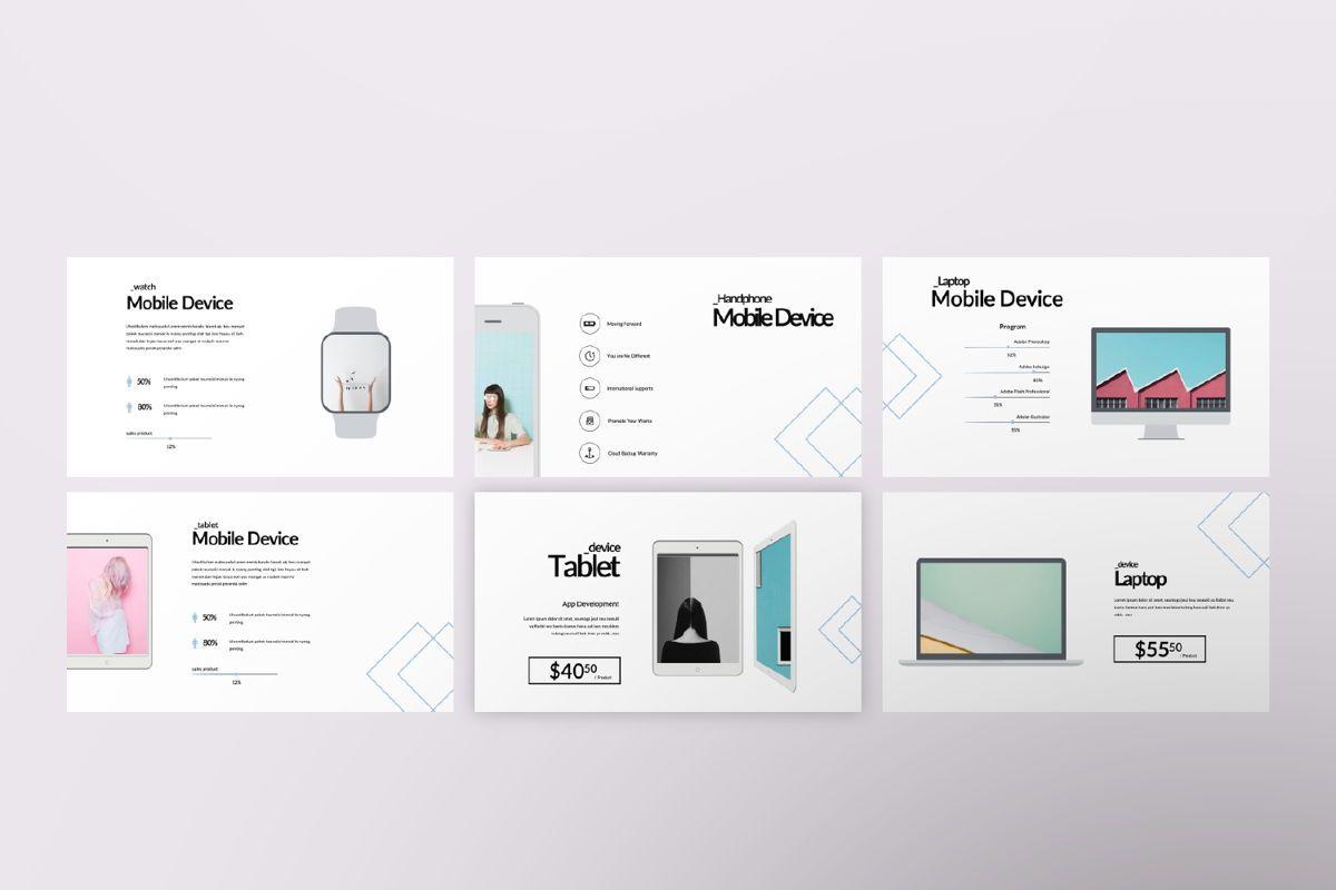 Bunggi Minimal Google Slide, Slide 7, 06631, Presentation Templates — PoweredTemplate.com