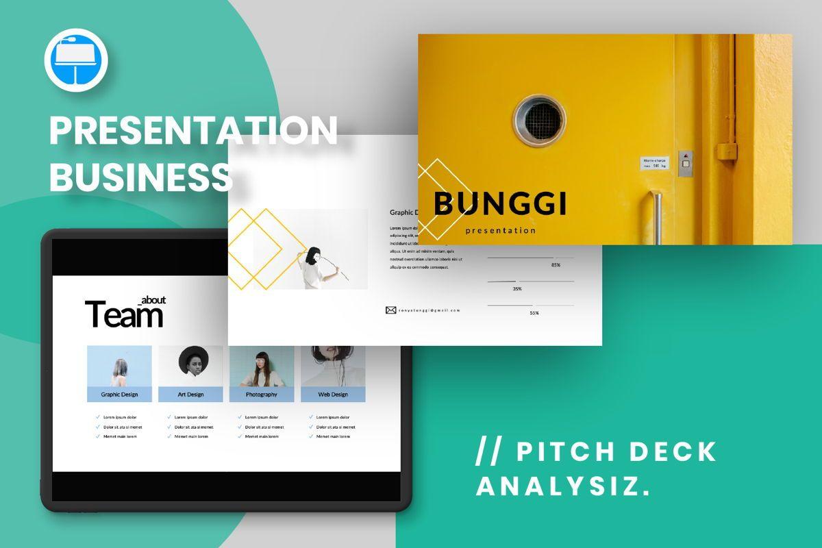 Bunggi Minimal Keynote, 06632, Presentation Templates — PoweredTemplate.com