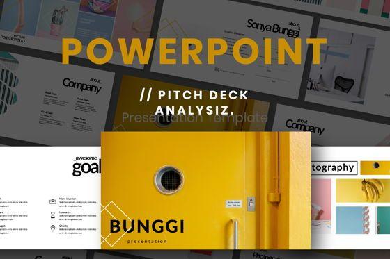 Presentation Templates: Bunggi Minimal Powerpoint #06633