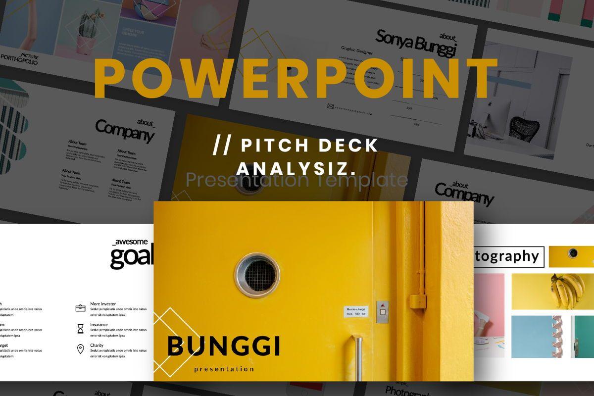 Bunggi Minimal Powerpoint, 06633, Presentation Templates — PoweredTemplate.com