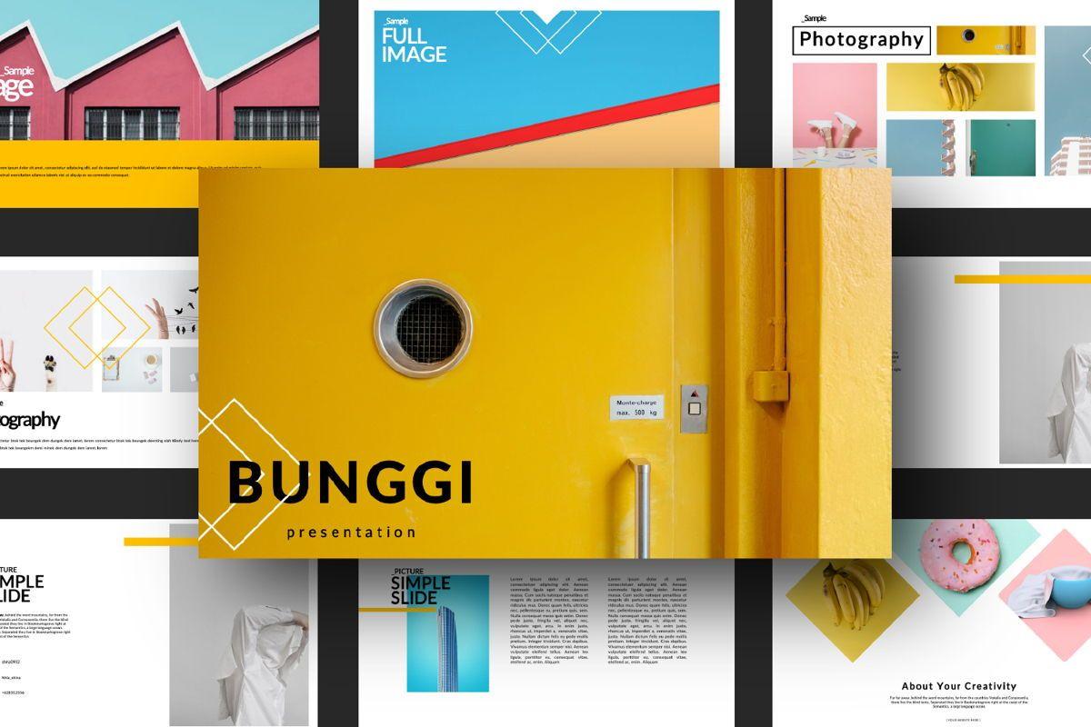 Bunggi Minimal Powerpoint, Slide 14, 06633, Presentation Templates — PoweredTemplate.com