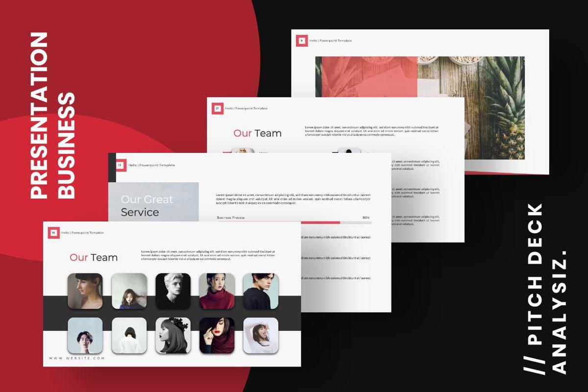 Hello Creative Google Slide, Slide 13, 06634, Presentation Templates — PoweredTemplate.com