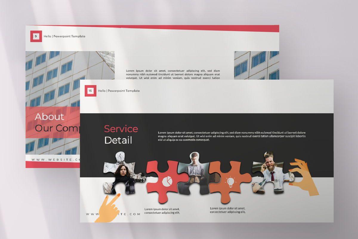 Hello Creative Google Slide, Slide 5, 06634, Presentation Templates — PoweredTemplate.com