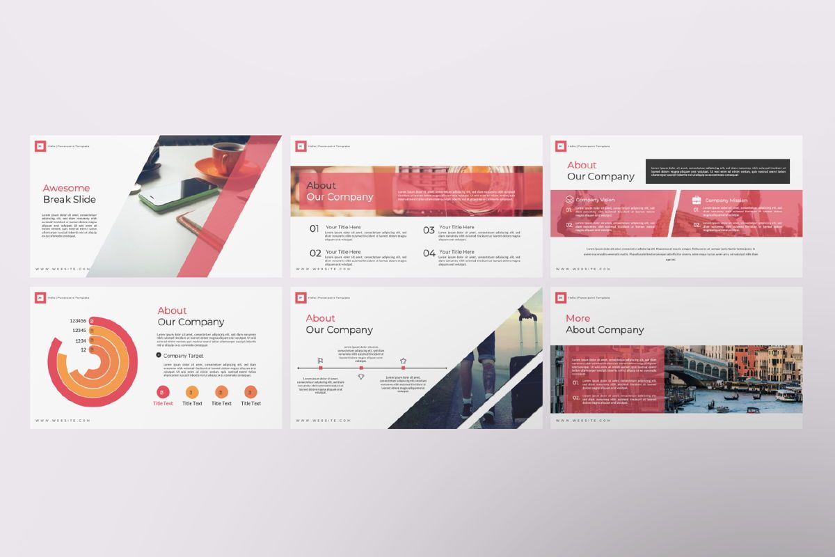 Hello Creative Google Slide, Slide 6, 06634, Presentation Templates — PoweredTemplate.com